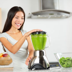 A green smoothie for St. Patrick's Day
