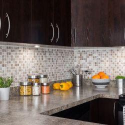A very clean, organized kitchen