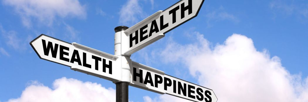 Crossroads between health, wellness, and happiness
