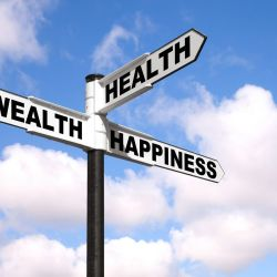 Crossroads between health, wellness, and happiness