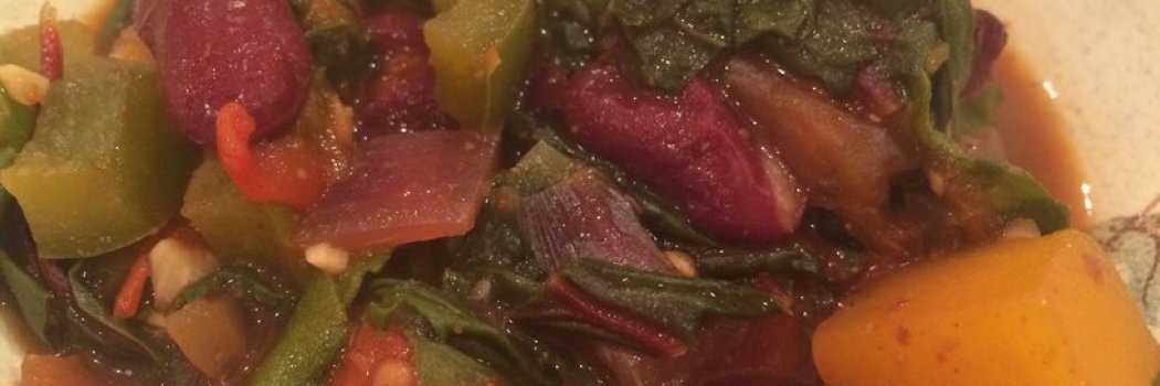 Recipeasy: Butternut Squash and Swiss Chard Chili