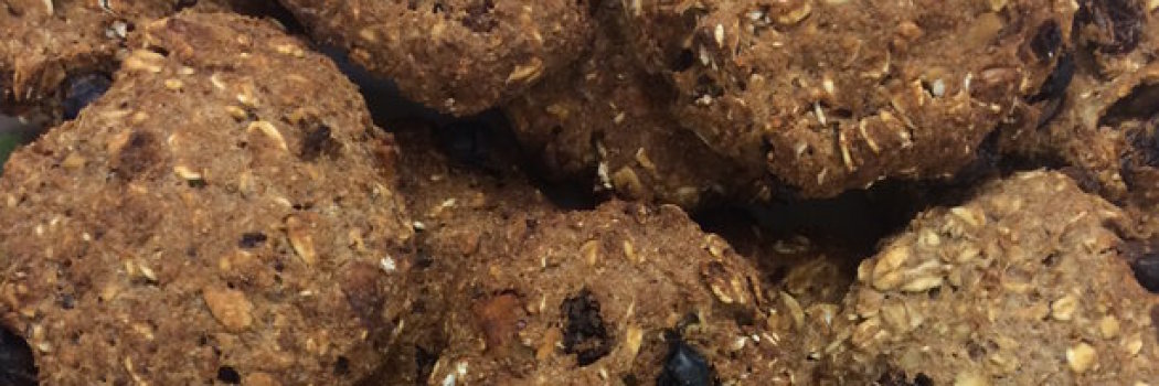 Recipeasy: K2's Awesome Oatmeal Raisin Cookies