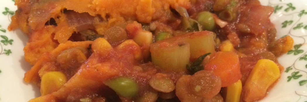 RecipEASY: Shepherd's Pie with Lentils and Sweet Potatoes