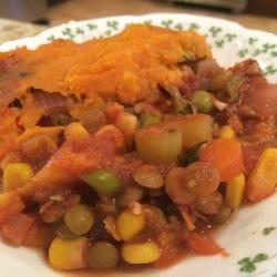 RecipEASY: Shepherd's Pie with Lentils and Sweet Potatoes