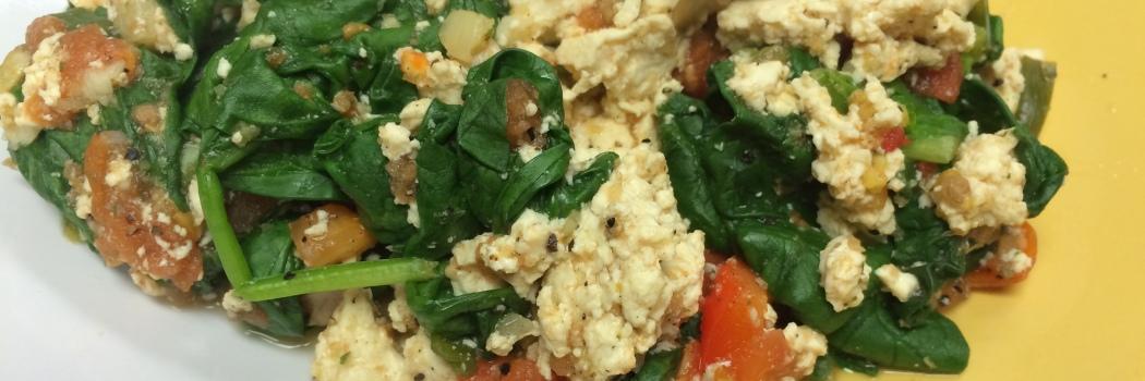 RecipEASY: Tofu Saute Scramble