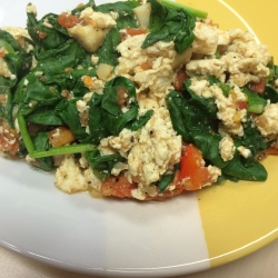 RecipEASY: Tofu Saute Scramble
