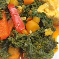 Recipeasy: Zesty Chicken with Steamed Kale