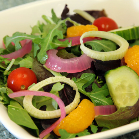 Arugula milanese salad 280x280