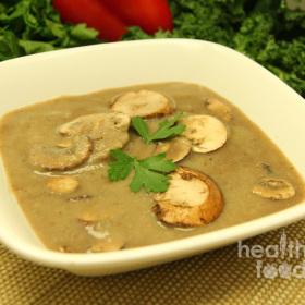 Creamy mushroom soup 280x280