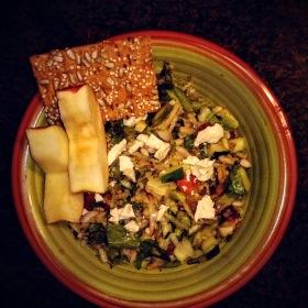 Garden salad with apples 280x280