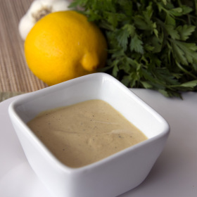Healthy caesar dressing 280x280