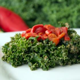 Marinated kale salad with a kick 280x280