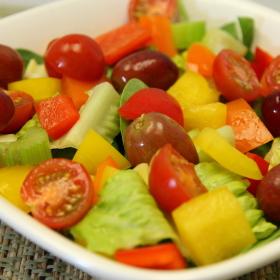 Rainbow salad 280x280
