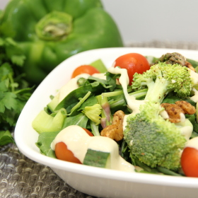 Simply green salad 280x280