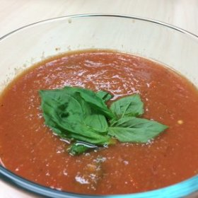 Spicy tomato soup 280x280