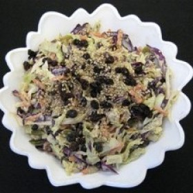 Triple treat cabbage coleslaw 280x280
